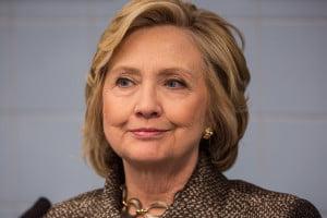 Hillary Clinton tin ton