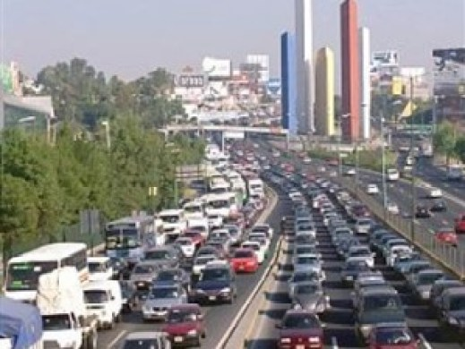 Periferico norte-tráfico congestión