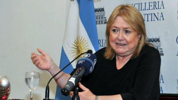 La canciller Susana Malcorra