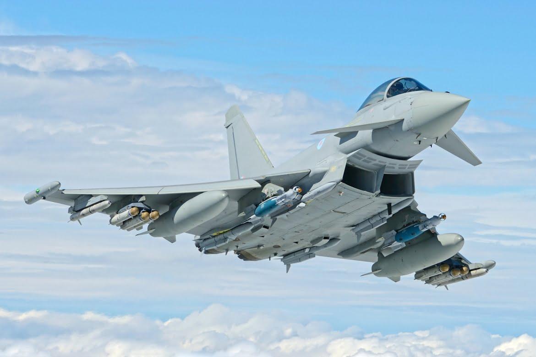 Eurofighter Typhoon Tomada de eurofightertyphoon.com