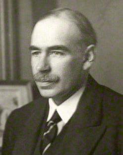 John Maynard Keynes. Foto: Wikimedia Commons