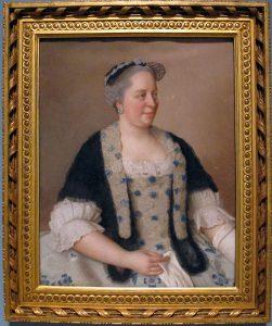 María Teresa de Austria. Retrado de Jean-Étienne Liotard. Wikimedia Commons
