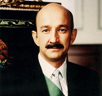 Carlos Salinas de Gortari. Foto oficial del gobierno mexicano