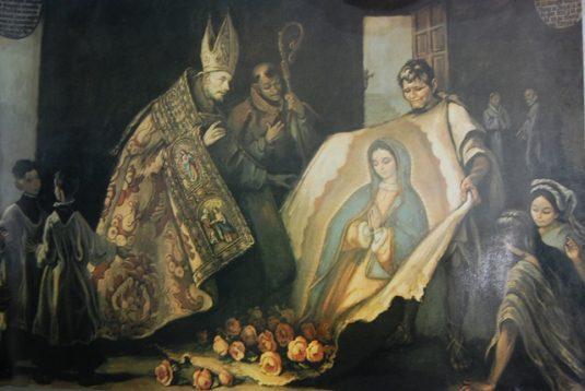 Aparición de la Virgen de Guadalupe a Fray Juan de Zumárraga, (Especial)