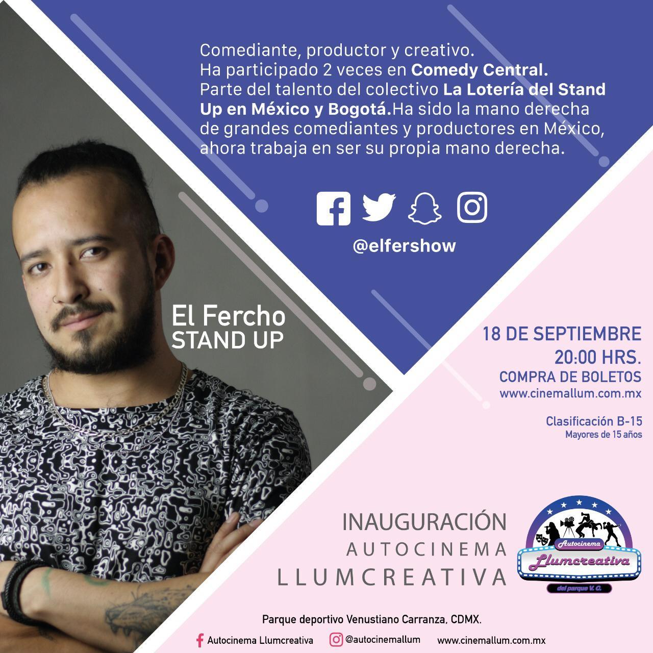 Mañana gran inauguración del Autocinema Llumcreativa El Parque que abre sus  puertas este fin de semana - Voces del Periodista Diario