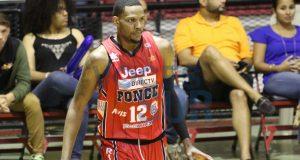 El refuerzo Devin Ebanks ha aportado con su ofensiva a los Leones de Ponce.