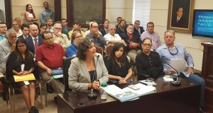 La secretaria de DRNA, Carmen Guerrero Pérez, se opuso a un proyecto que legalizaría todas las casas y muelles privados situados en el agua y en terrenos de dominio público del poblado La Parguera, en Lajas.