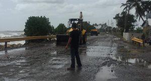 La carretera PR-1 en Salinas fue cerrada desde la intersección con el sector Las Ochenta hasta el límite con el municipio de Santa Isabel.