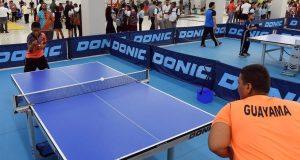 El tenis de mesa es una de las disciplinas que se puede practicar en el centro de formación deportiva de Guayama.