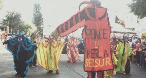 El vejigante es uno de los aspectos más llamativos del Carnaval de Ponce.