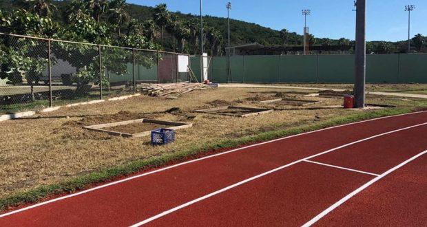 La pista atlética Lucas Sievens de Guayanilla contará con un gimnasio al aire libre.