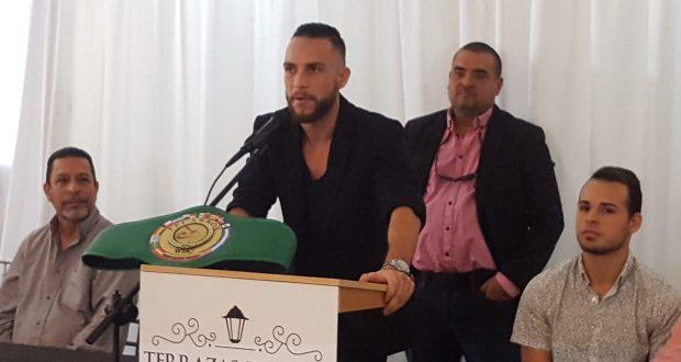 El púgil sangermeño Carlos 'Pote' Vidal.