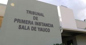 Tribunal de Primera Instancia de Yauco. (Voces del Sur)