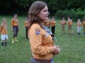 ... Axis, la directrice, s'avance et prend la parole. C'est à elle d'ouvrir officiellement le camp en Bourgogne 2014 ...