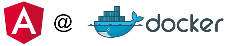 Angular Docker Excample