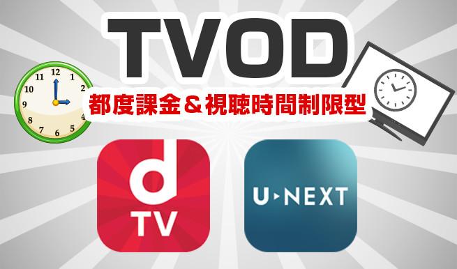TVOD(都度課金&視聴時間制限型)