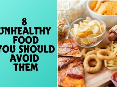 8 unhealth foods