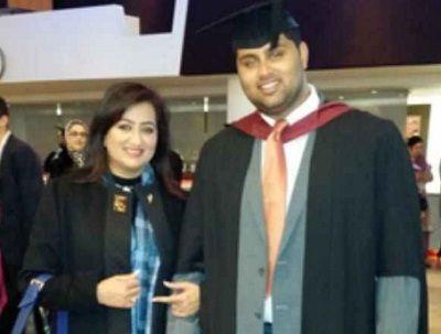 Abhishek-Gowda on his Graduation Day