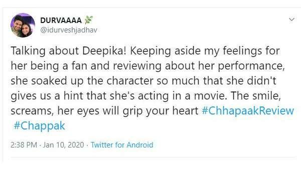 Chhapaak Review