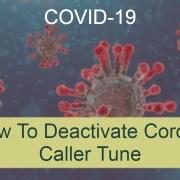 Corona Caller Tune