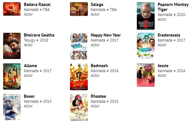Daali Dhananajay's Films