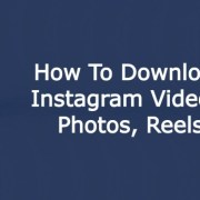 How to download Reels Videos