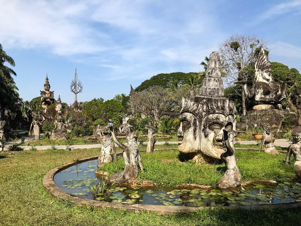 Будда-парк, Вьентьян, Лаос