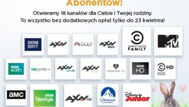 Photo of Nawet 18 dodatkowych kanałów za darmo w serwisie Cyfrowy Polsat GO