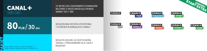 Canal+ w serwisie Player.pl