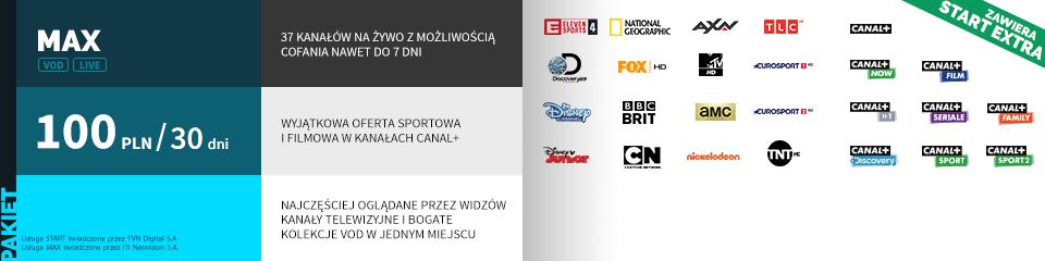 Wszystkie kanały wraz z Canal+ w serwisie Player.pl