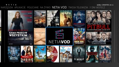 Netia VOD, Netia PLayer, Netia