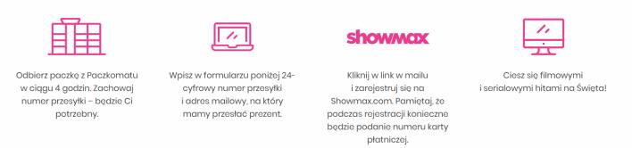 Showmax za darmo dzięki współpracy z inPost