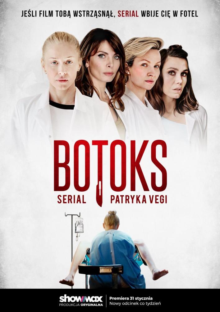 """Plakat serialu """"Botoks"""" dla Showmax"""