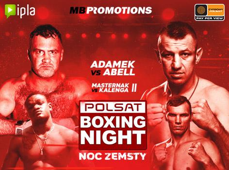 Polsat Boxing Night, IPLA, Tomasz Adamek vs. Joey Abell