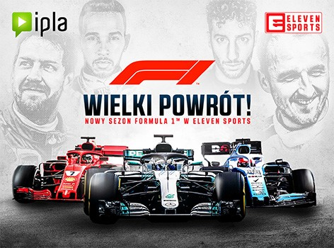 Formuła 1, IPLA, Eleven Sports, Polsat Sport, Mistrzostwa Europy