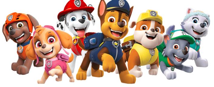 Psi Patrol w aplikacji Nickelodeon Play dla klientów Play