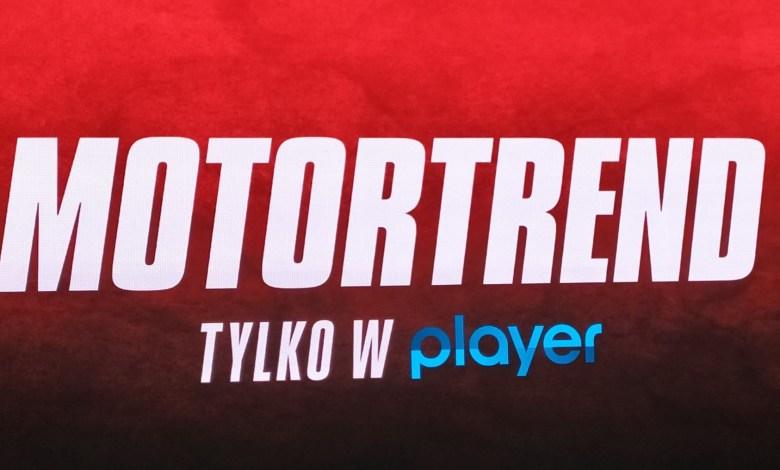 Nowy serwis motoryzacyjny MotorTrend na platformie Player.pl