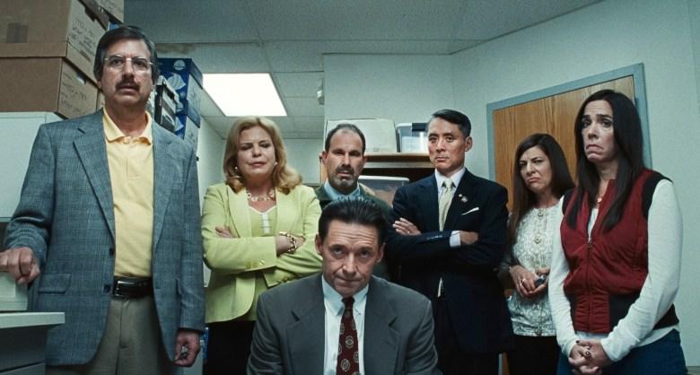 """Photo of Hugh Jackman i Allison Janney w filmie HBO GO """"Zła edukacja"""""""