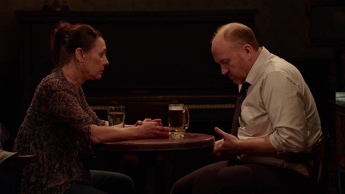 Image result for louis ck horace and pete laurie metcalf