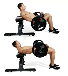 hip thrust voor ronde billen
