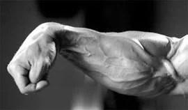 onderarmen trainen