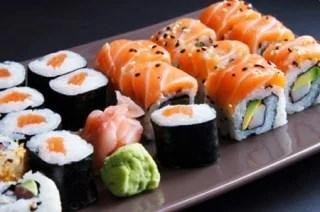 sushi hoeveel calorieen