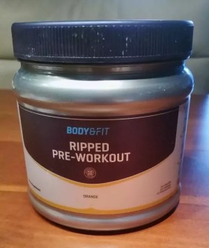 Ripped Pre-Workout review en ervaringen
