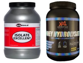 whey hydrolisate vs isolate excellent