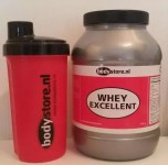 Bodystore whey excellent ervaring