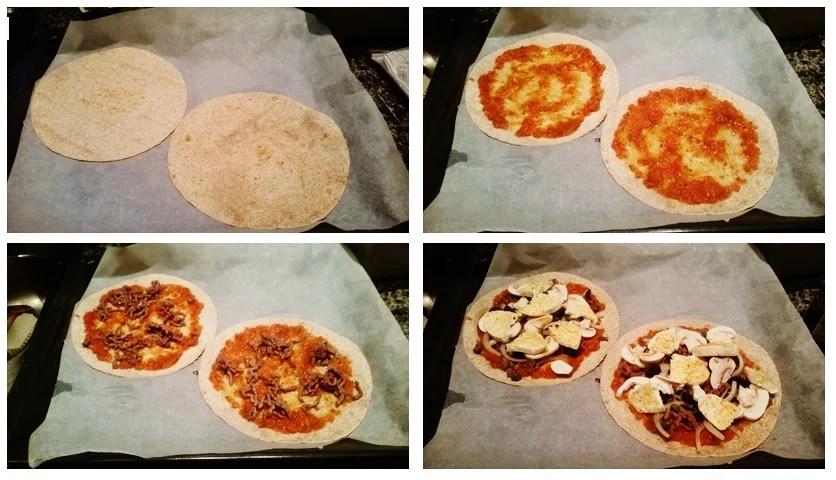 gezonde pizza recept