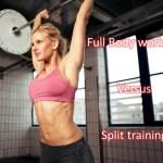 Full body of split schema - wat is beter?