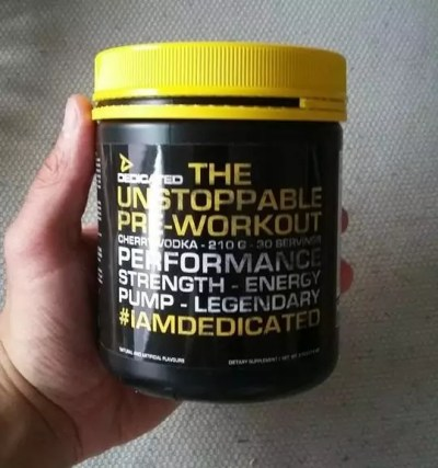 unstoppable pre workout