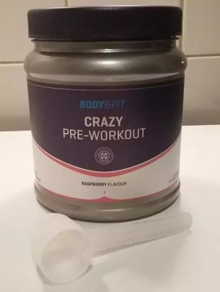 crazy pre workout review