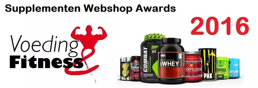 supplementen webshop awards 2016